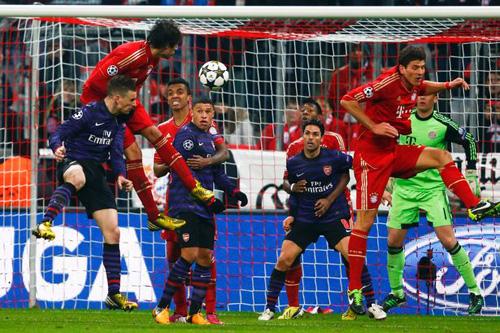 Arsenal 2-0 Bayern