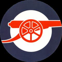 "Arsenal ""Underground"" logo. (Source: Shaggy Bevo forum user skipperj"