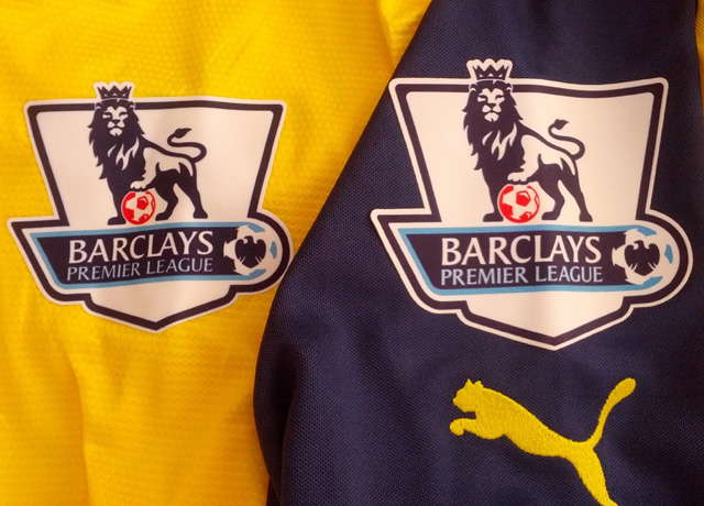 The Premier League patches look really nice on this year's kit.