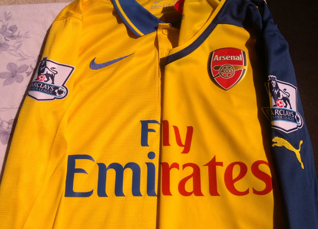 This year's kit review compares Nike 13-14 Away with Puma 14-15 Away
