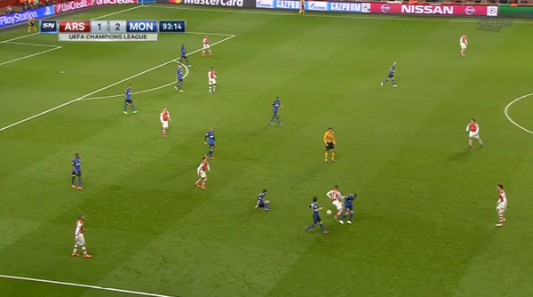 Gibbs' body language is telling. Ox gets in trouble.